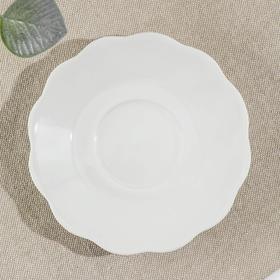 Тарелка TURON PORCELAIN «Классика», d=12,5 см, цвет белый