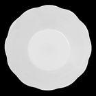 Тарелка d=13 см «Классика», цвет белый