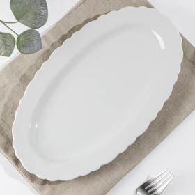 Тарелка «Классика», d=29 см, овальная