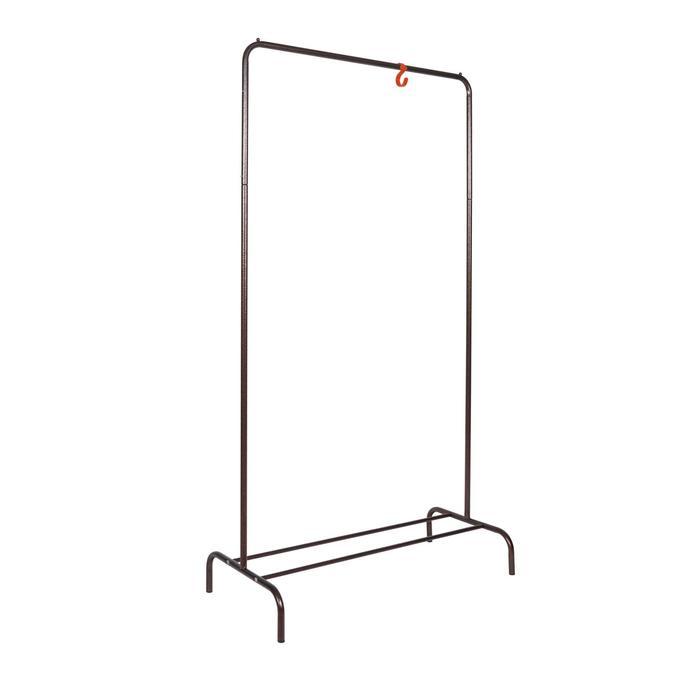 Вешалка гардеробная «Радуга», 82×39×150 см, цвет медный антик