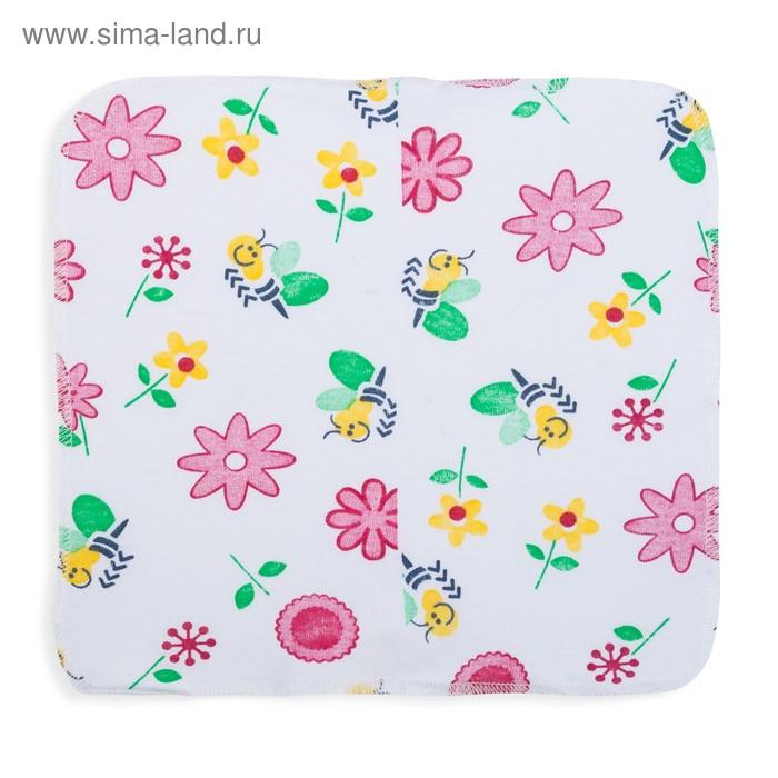 Комплект платочков (6 шт.), размер 20х20 см, цвет МИКС