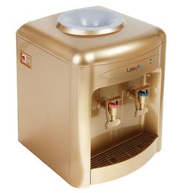 Кулер для воды Lesoto 36 TK, только нагрев, 500 Вт, цвет золото Ош
