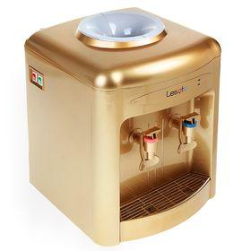 Кулер для воды LESOTO 36 TD, с охлаждением, 615 Вт, цвет золото Ош