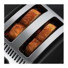 Тостер Russell Hobbs 21293-56, 1300 Вт, 6 режимов прожарки, 2 тоста, разморозка, черный - Фото 3
