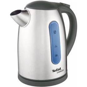 Чайник электрический Tefal KI170D30, металл, 1.7 л, 2400 Вт, серебристый