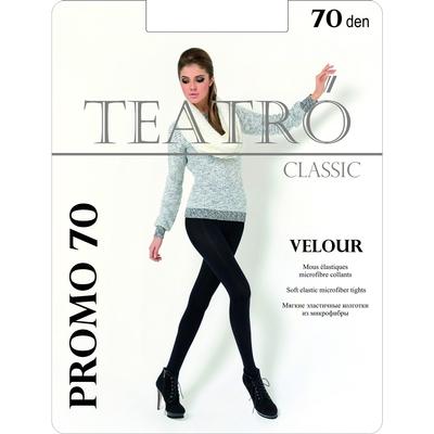 Колготки женские Promo 70 den, Velour цвет чёрный (nero), размер 2
