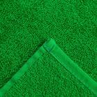 Полотенце махровое Экономь и Я 50х90 см, цв. зелёное яблоко, 340 г/м² - Фото 3
