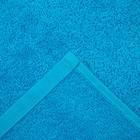 Полотенце махровое Экономь и Я 70х130 см, цв. голубой, 320 г/м² - Фото 3