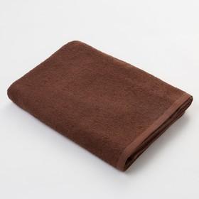 Полотенце махровое Экономь и Я 70х130 см, цв. шоколад, 320 г/м² Ош