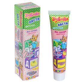 Зубная паста детская 'Страна сказок' 'АБВГДЕЙКА', без сахара, от 0 лет, (в футляре) Ош