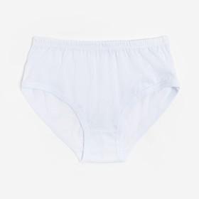 Трусы женские слипы, цвет белый, размер 48