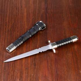 Сувенирный кортик, 28 см, рукоять и ножны с рёбрами Ош