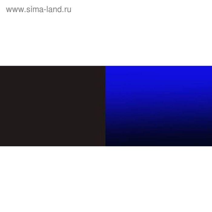 Фон для аквариума двухсторонний Темно-синий/Чёрный 30х60см (9016/9017)