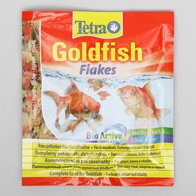 Корм Goldfish для золотых рыб, хлопья, 12 г.