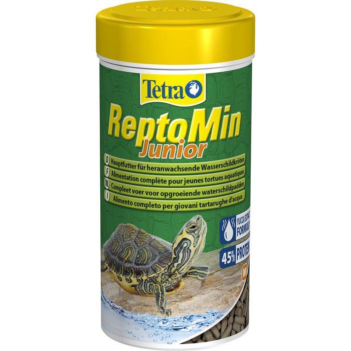Корм Tetra ReptoMin Junior для молодых черепах, 100 мл.