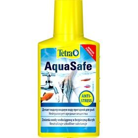 Кондиционер для подготовки воды AquaSafe  50мл, на объем 100л