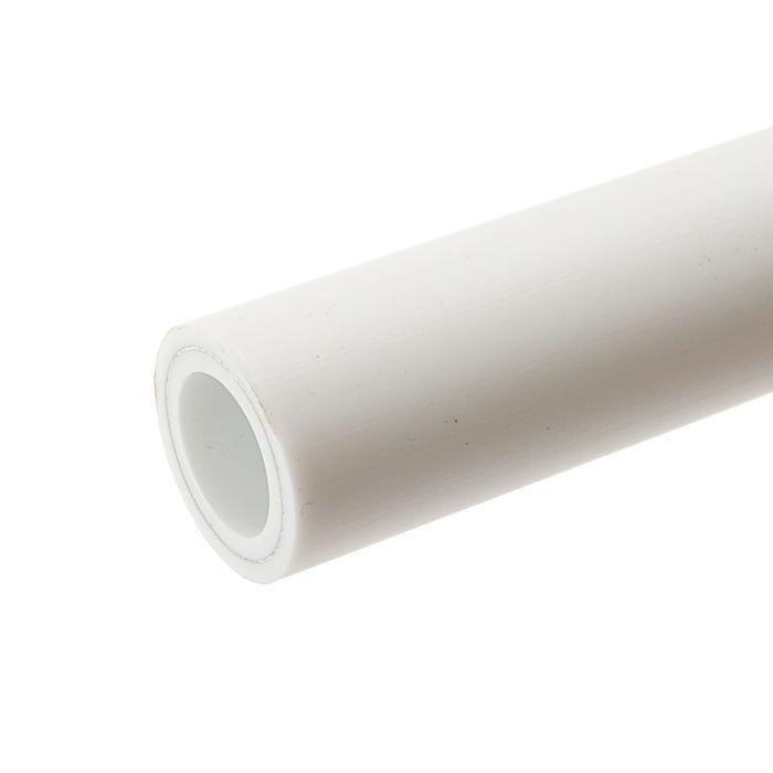 Труба полипропиленовая VALFEX, армированная алюминием, d=20 мм, SDR 6, PN 25, 4 м