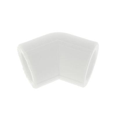 Уголок VALFEX, полипропиленовый, d=20 мм, 45° - Фото 1