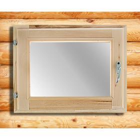 Окно, 40×50см, двойное стекло, из липы Ош
