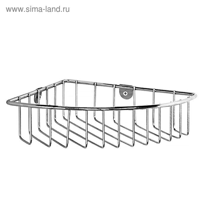 Полка угловая, проволока стальная, 05, Milardo, 105WC00M44