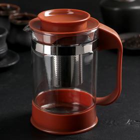 Чайник заварочный «Шоколад», 800 мл, с металлическим ситом