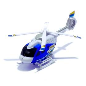 Вертолёт инерционный «Спасатель», цвета МИКС