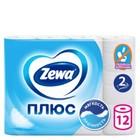 Туалетная бумага Zewa, 2 слоя, 12 рулонов