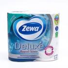 Туалетная бумага Zewa Deluxe Delicate Care, 3 слоя, 4 шт.