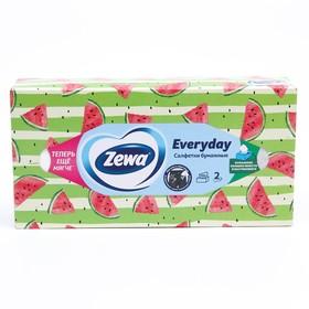 Салфетки бумажные Zeva Everyday, микс, 100 шт.