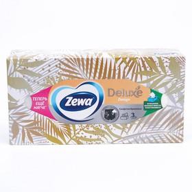 Салфетки бумажные Zewa Deluxe Design, микс, 90 шт.