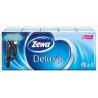 Платочки бумажные носовые Zewa Deluxe, 10 упаковок по 10 шт.