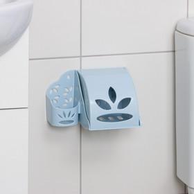 Держатель для туалетной бумаги и освежителя воздуха, цвет МИКС Ош