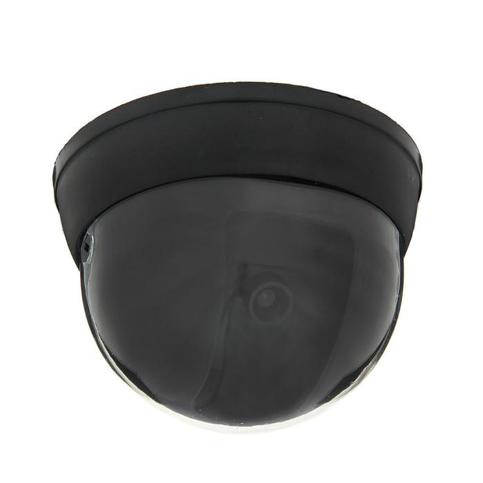 Муляж видеокамеры LuazON VM-3, со светодиодным индикатором, 2xАА не в компл, черный