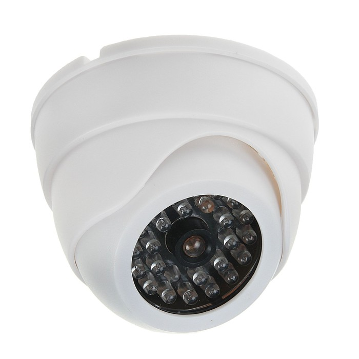 Муляж видеокамеры LuazON VM-4, со светодиодным индикатором, 2хАА не в компл, белый