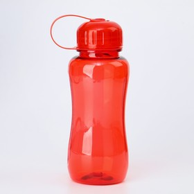 Бутылка для воды, 550 мл, 19 х 7 см, микс Ош