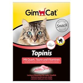 """Лакомство для кошек Gimpet """"Мышки"""" с творогом и таурином, 190 шт, 220 г"""