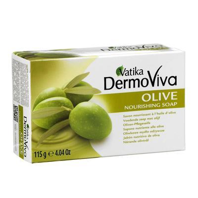 Мыло Vatika Naturals Olive Soap - с экстрактом оливы 115 гр. - Фото 1