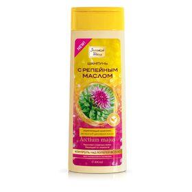 Шампунь Золотой шёлк «Контроль над потерей волос», с репейным маслом, 400 мл
