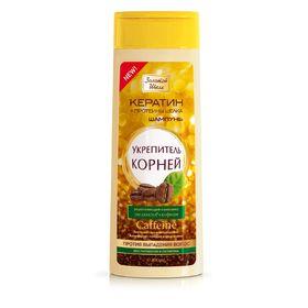 Шампунь для волос Золотой шёлк «Укрепитель корней», против выпадения, 400 мл