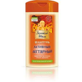 Шампунь для волос Золотой шёлк «Дегтярный», для проблемной кожи головы, 250 мл