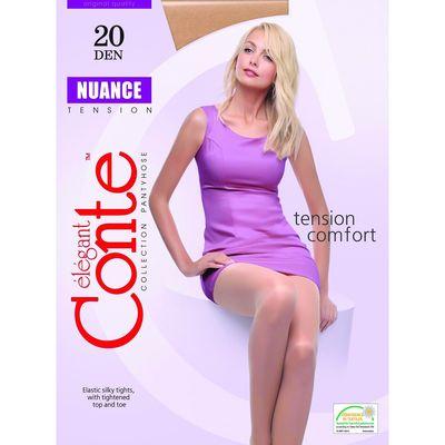 Колготки женские Conte Elegant Nuance, 20 den, размер 5, цвет natural