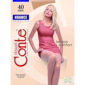 Колготки женские Conte Elegant Nuance, 40 den, размер 2, цвет bronz