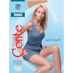 Колготки женские Conte Elegant Tango, 20 den, размер 2, цвет bronz