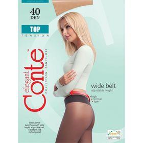 Колготки женские Conte Elegant Top, 40 den, размер 2, цвет mocca