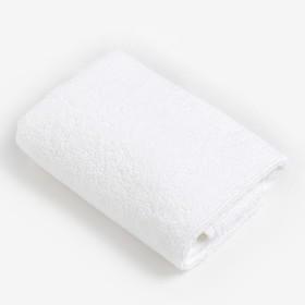 Полотенце махровое «Экономь и Я» 30х60 см, цвет оранжевый