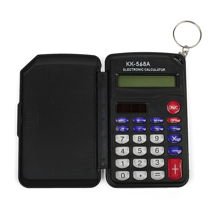 Калькулятор карманный, 8-разрядный, KD-568А, двойное питание