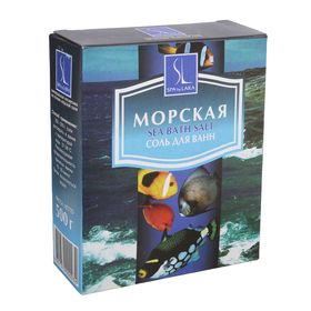 Соль морская  Spa by Lara для ванн натуральная, 500 г