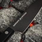 Нож кухонный для овощей Samura Shadow лезвие 9,9 см, с покрытием Black Fuso - Фото 2