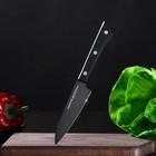 Нож кухонный для овощей Samura Shadow лезвие 9,9 см, с покрытием Black Fuso - Фото 5