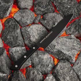 Нож кухонный универсальный Samura Shadow, лезвие 15 см, с покрытием Black Fuso